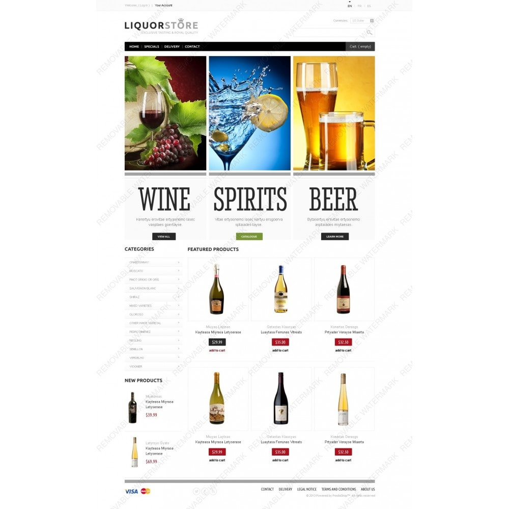 theme - Cibo & Ristorazione - Alcoholic Beverages - 2