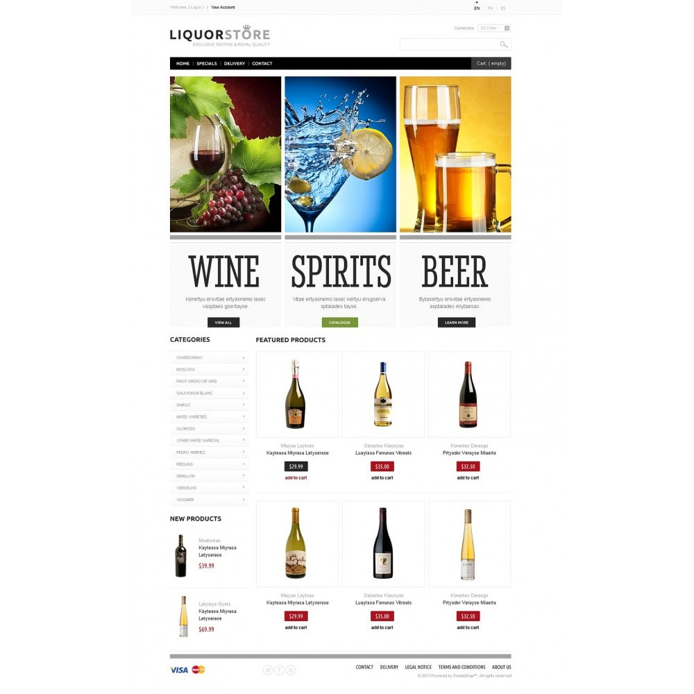 theme - Cibo & Ristorazione - Alcoholic Beverages - 5