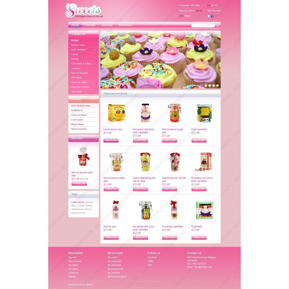 theme - Продовольствие и рестораны - Candy Shop - 2