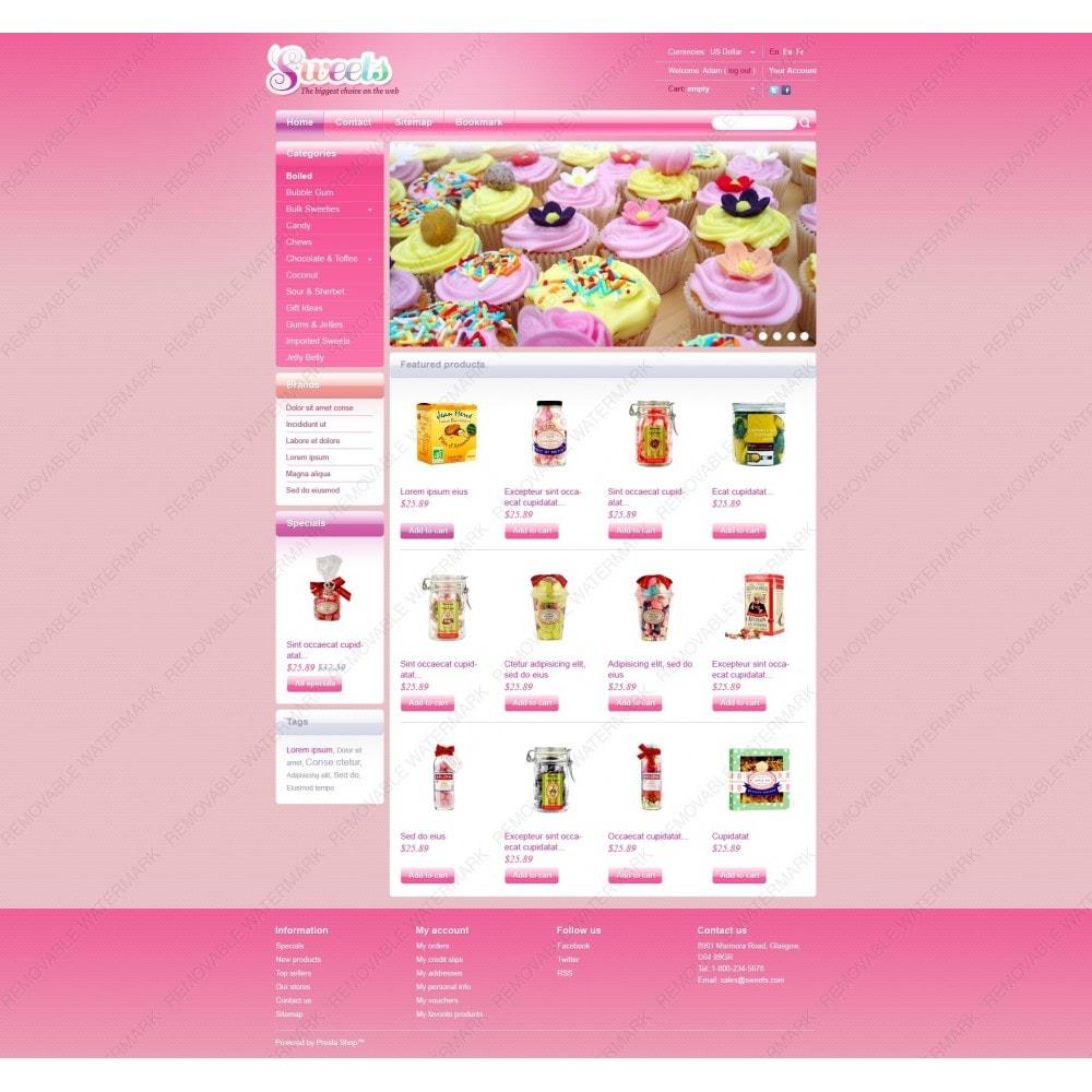 theme - Продовольствие и рестораны - Candy Shop - 7