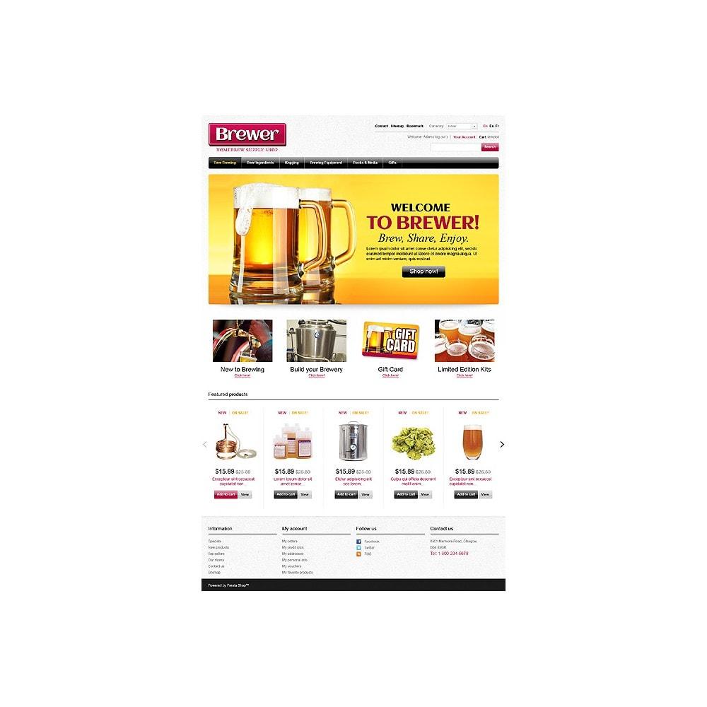 theme - Food & Restaurant - Brewer - 1