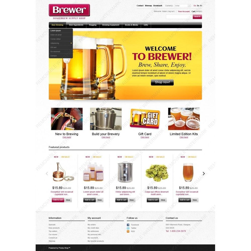 theme - Food & Restaurant - Brewer - 2