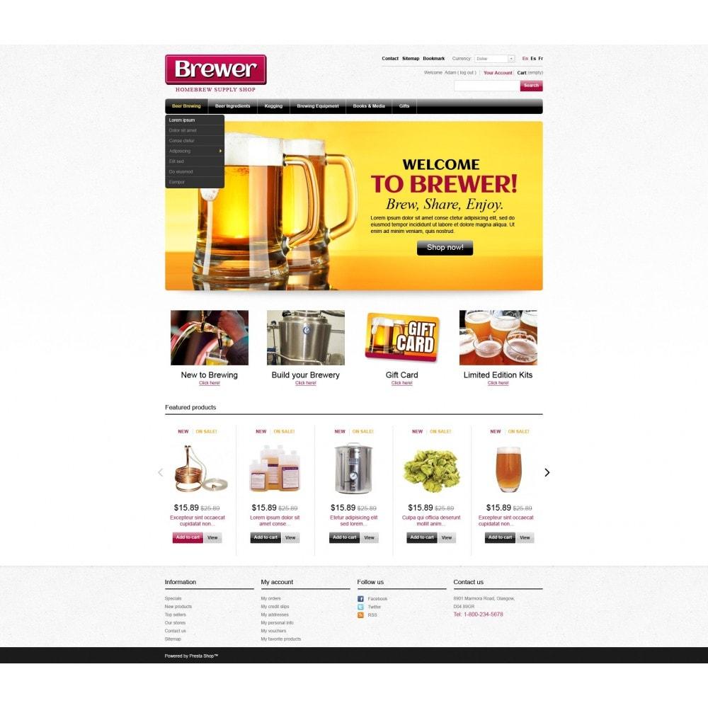 theme - Food & Restaurant - Brewer - 3