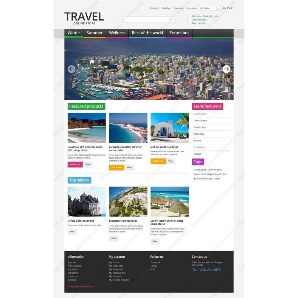 theme - Desporto, Actividades & Viagens - Travel Store - 2