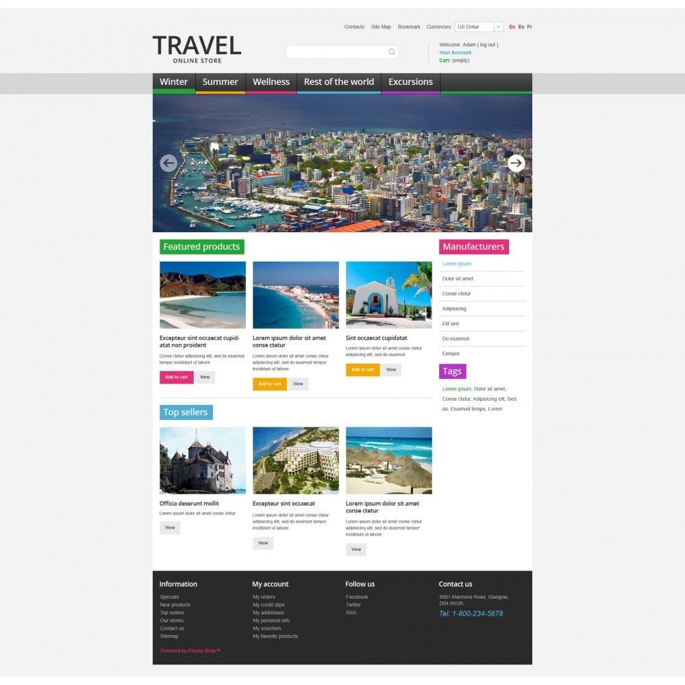 theme - Desporto, Actividades & Viagens - Travel Store - 3