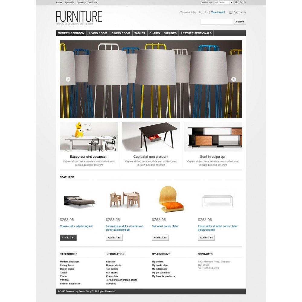 theme - Kultura & Sztuka - Furniture Creating Comfort - 7
