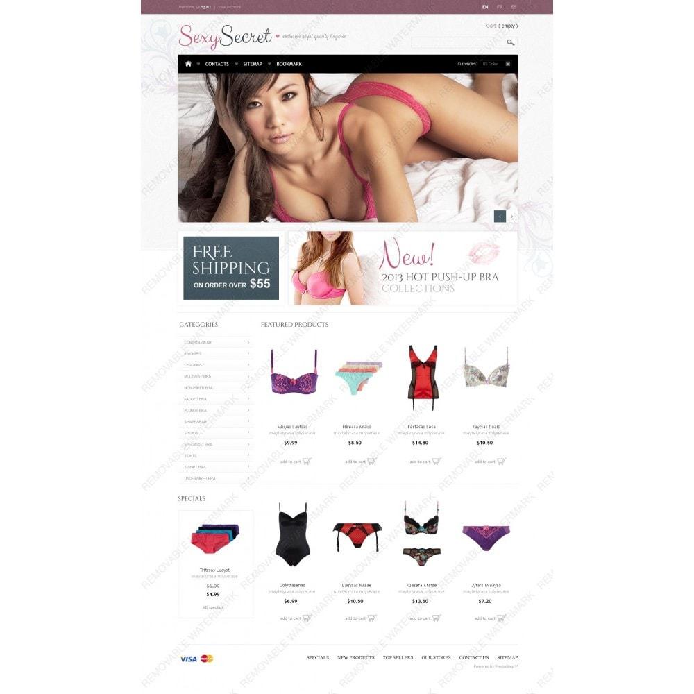 theme - Mode & Schoenen - Sexy Secret - 2