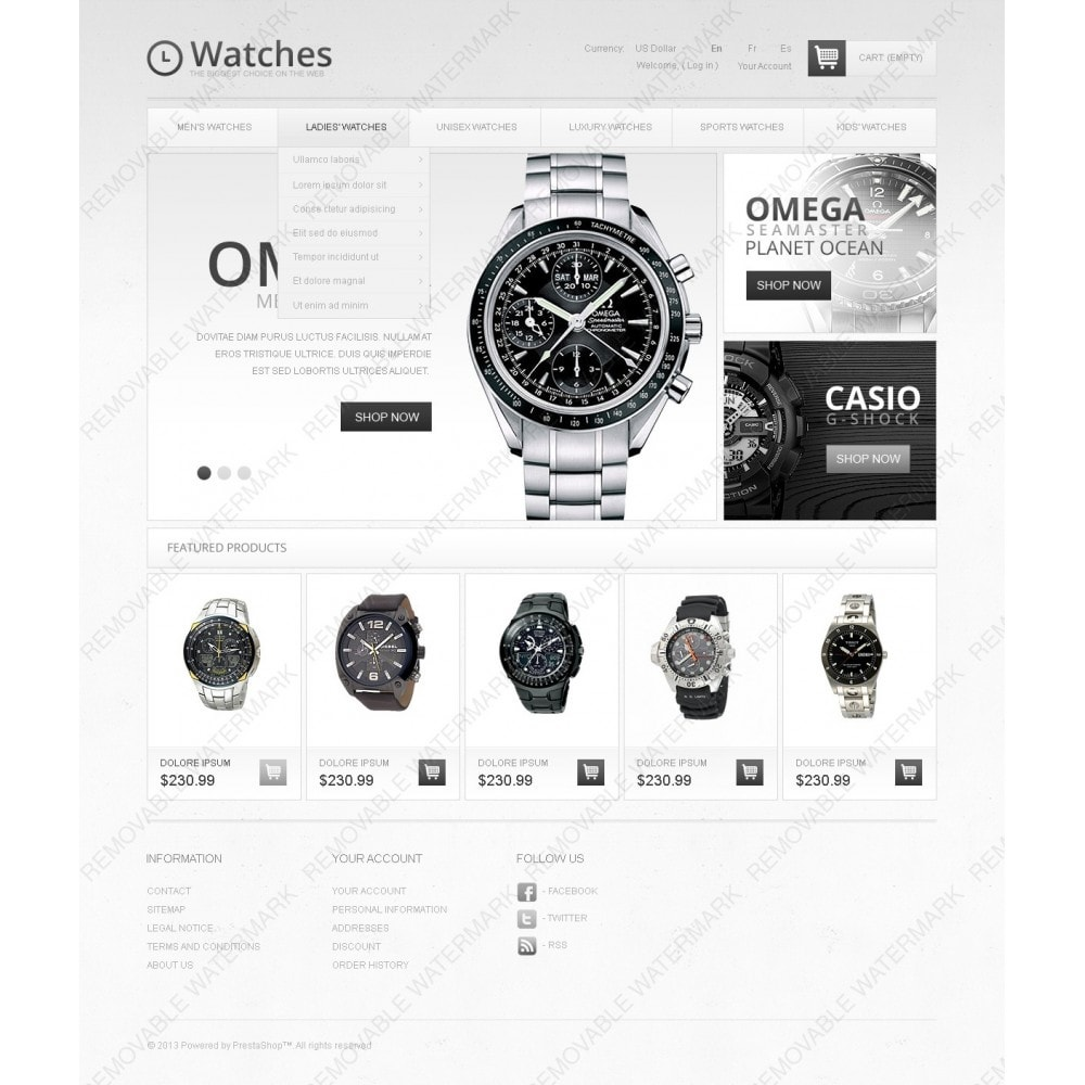 theme - Moda & Obuwie - Luxury Watches - 2