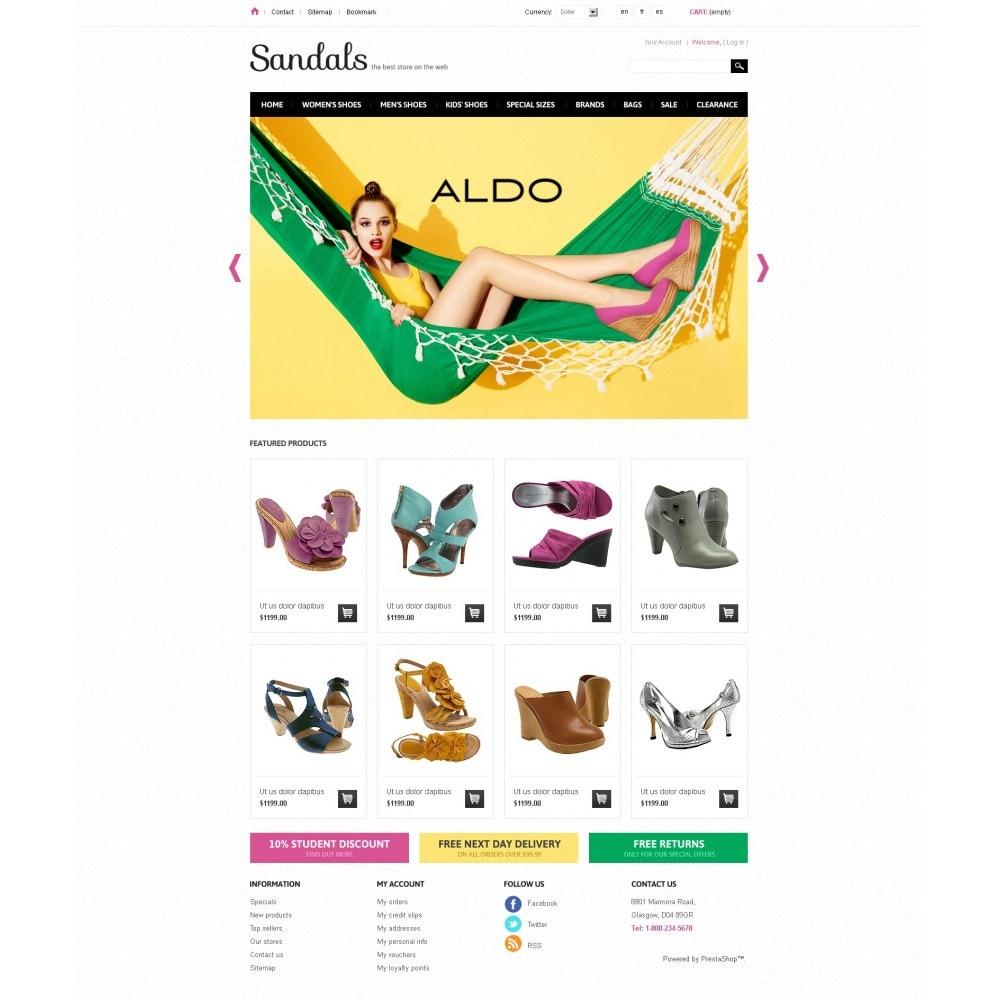 theme - Мода и обувь - Sandals - 3