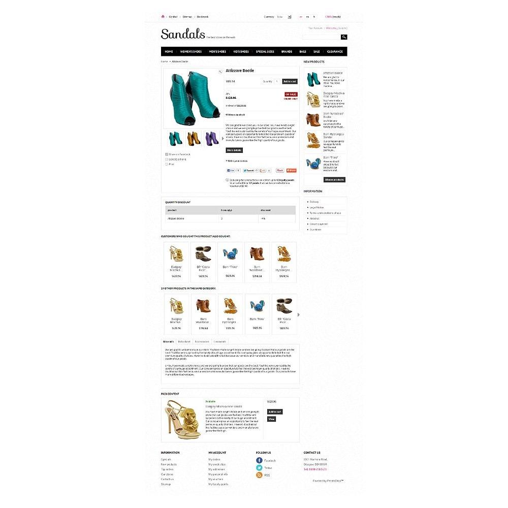 theme - Мода и обувь - Sandals - 6