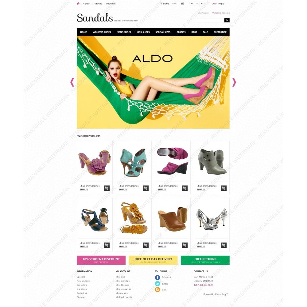 theme - Мода и обувь - Sandals - 7