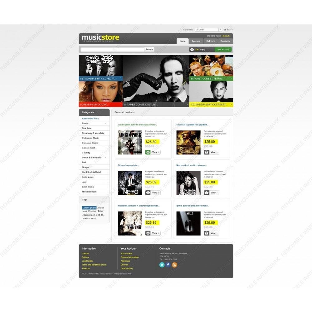 theme - Kultura & Sztuka - Music Store - 5