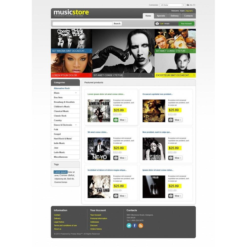 theme - Kultura & Sztuka - Music Store - 7