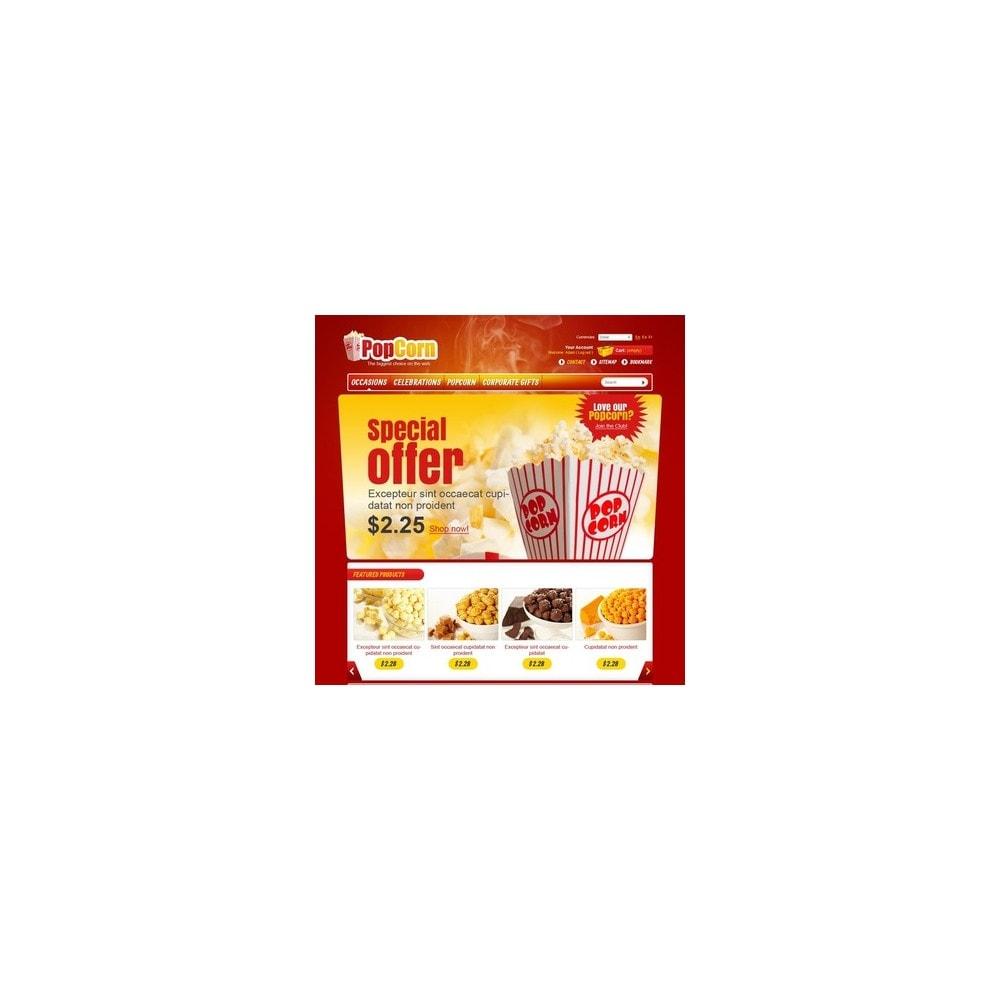 theme - Food & Restaurant - Popcorn Store - 4