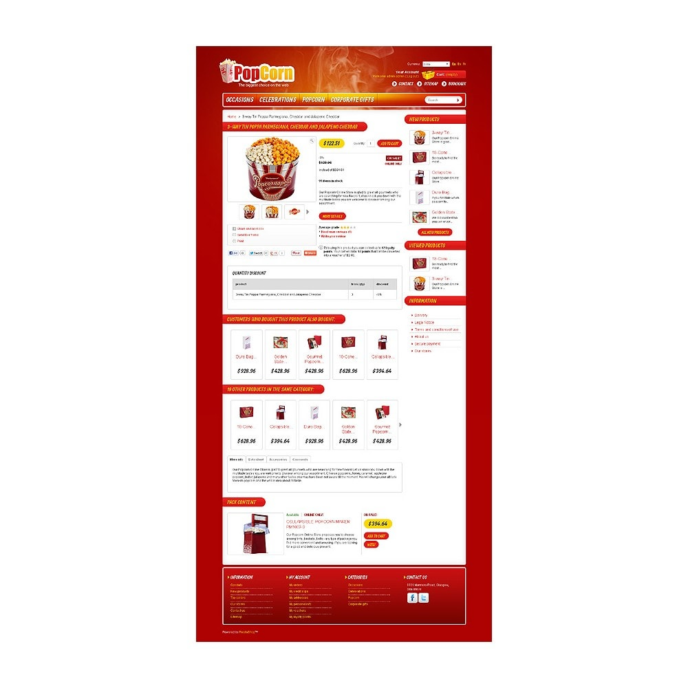 theme - Food & Restaurant - Popcorn Store - 6