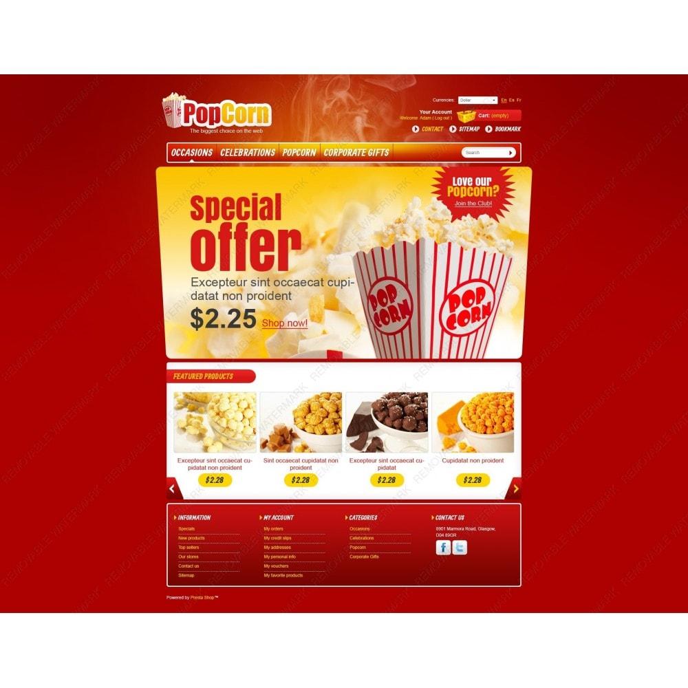 theme - Food & Restaurant - Popcorn Store - 7