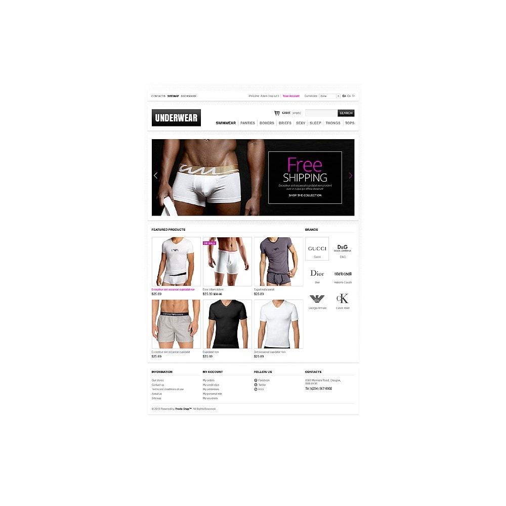 theme - Moda & Calzature - Men's underwear - 1