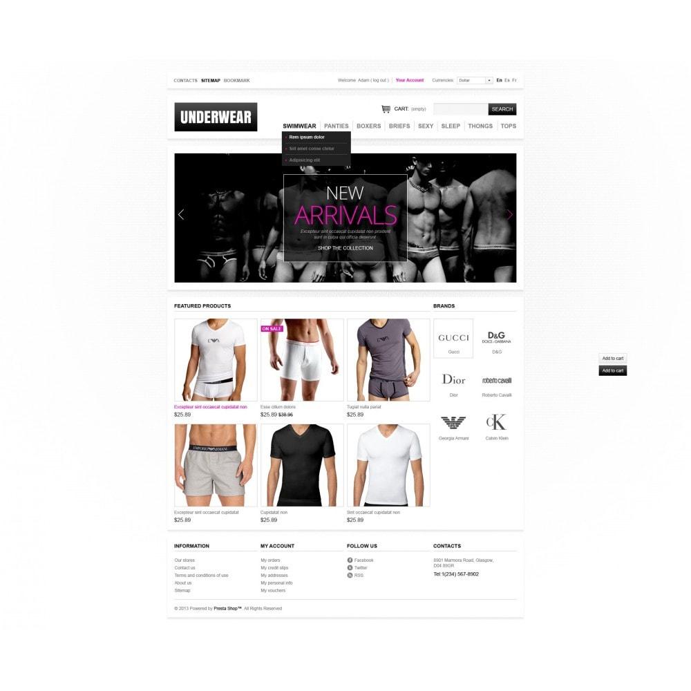 theme - Moda & Calzature - Men's underwear - 3