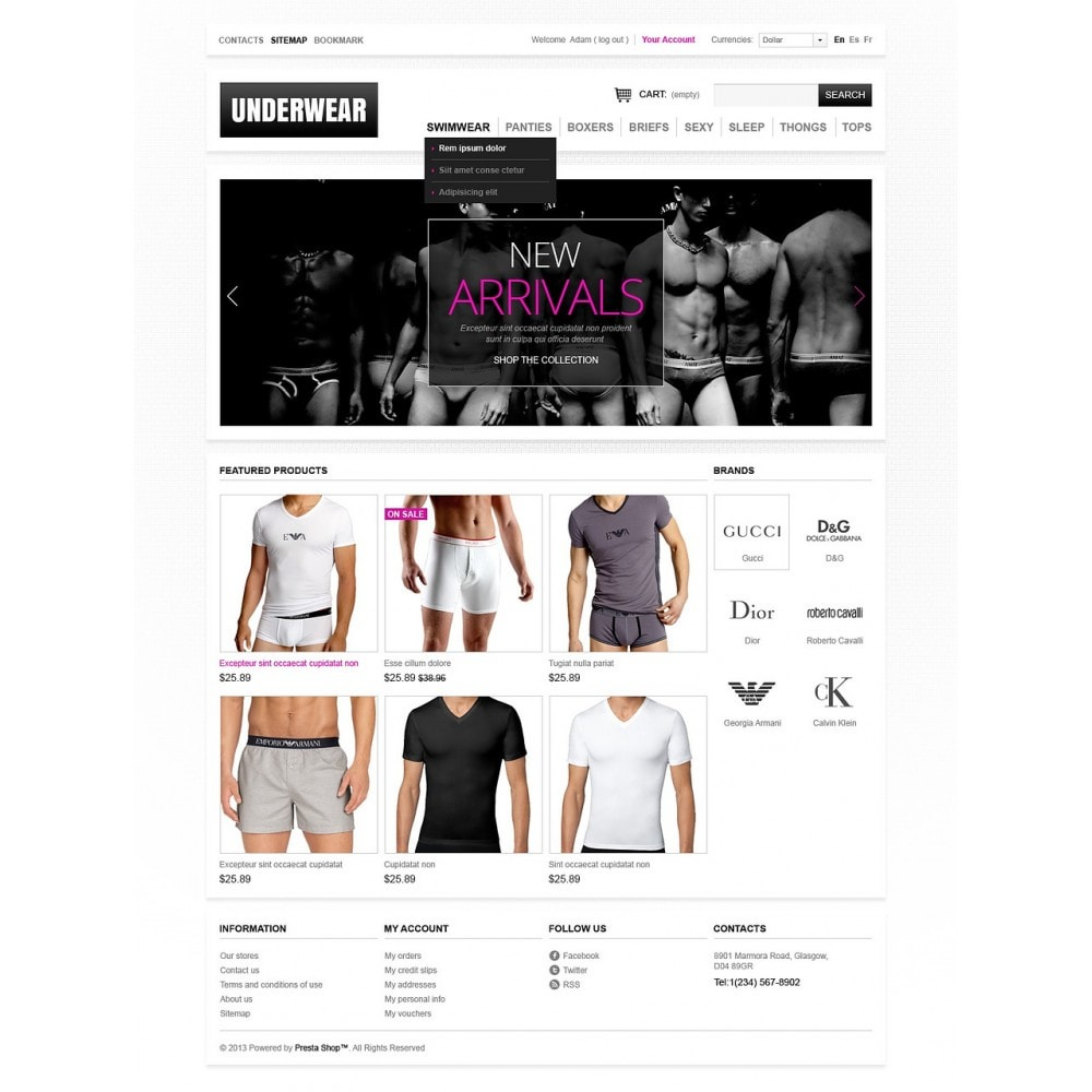 theme - Moda & Calzature - Men's underwear - 5