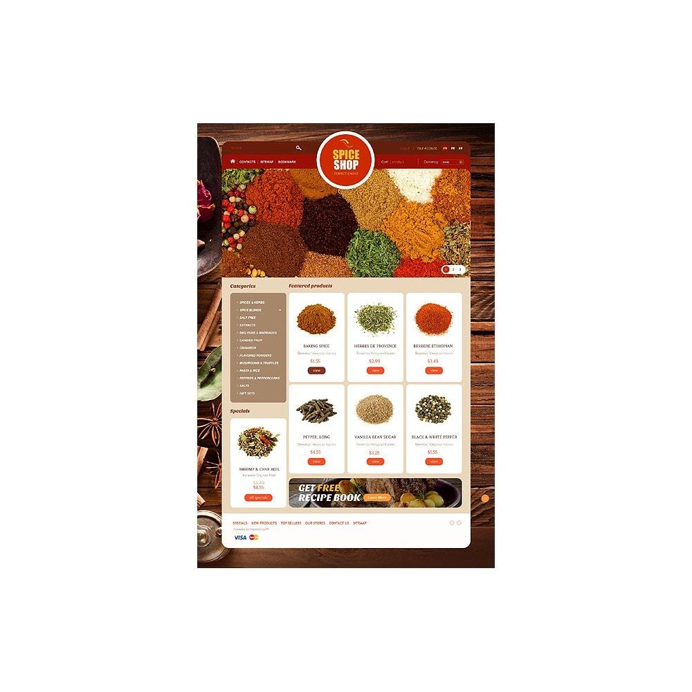 theme - Alimentos & Restaurantes - Spice Shop - 1