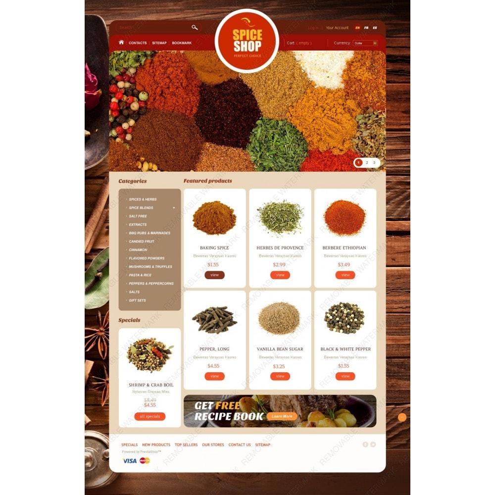 theme - Alimentos & Restaurantes - Spice Shop - 2