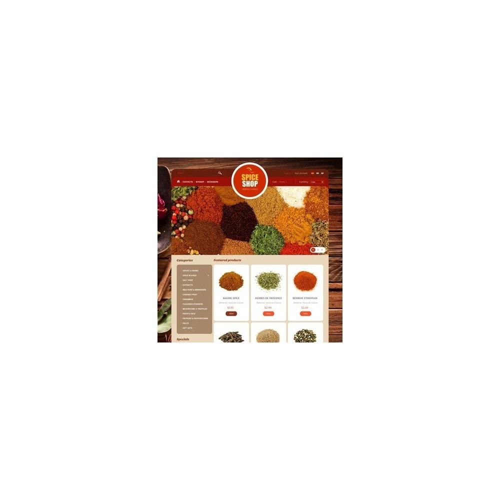 theme - Alimentos & Restaurantes - Spice Shop - 4