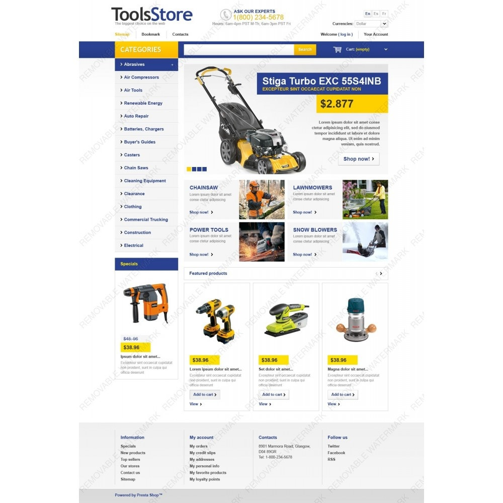 theme - Dom & Ogród - Tools Store - 2