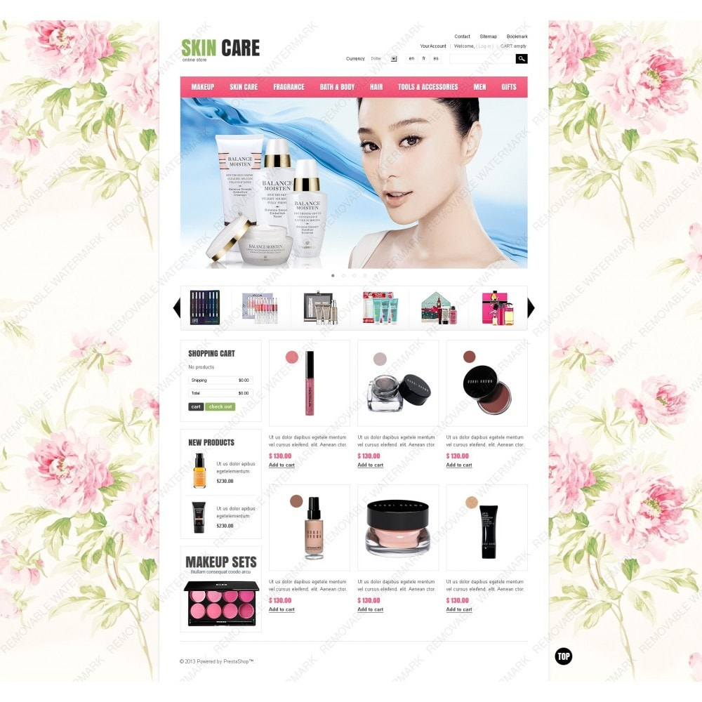 theme - Мода и обувь - Skin Care - 7