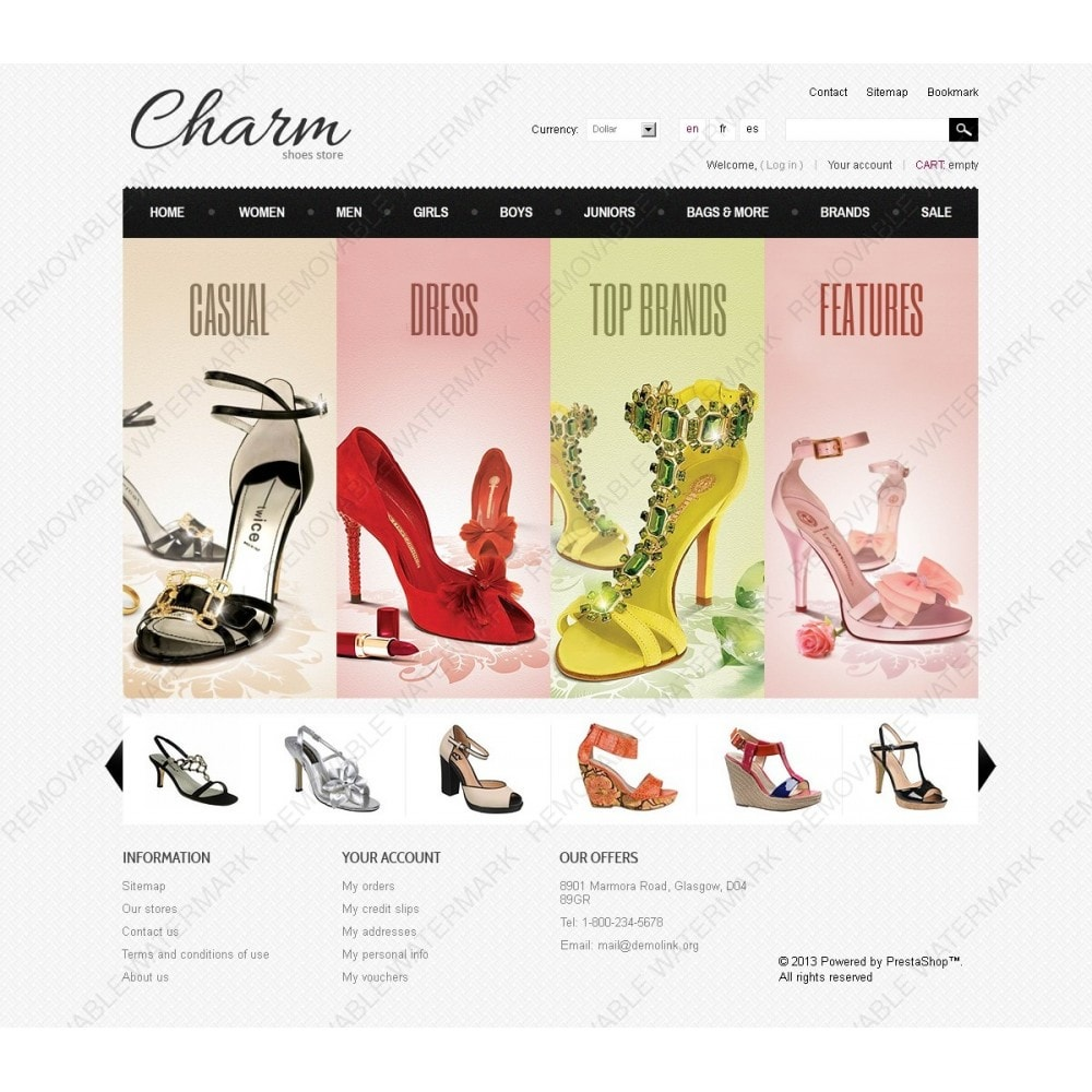 theme - Mode & Chaussures - Footwear Store - 2