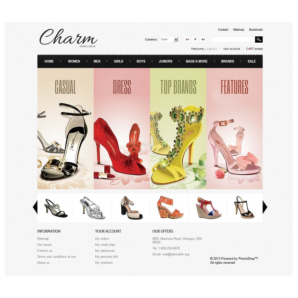 theme - Mode & Chaussures - Footwear Store - 5