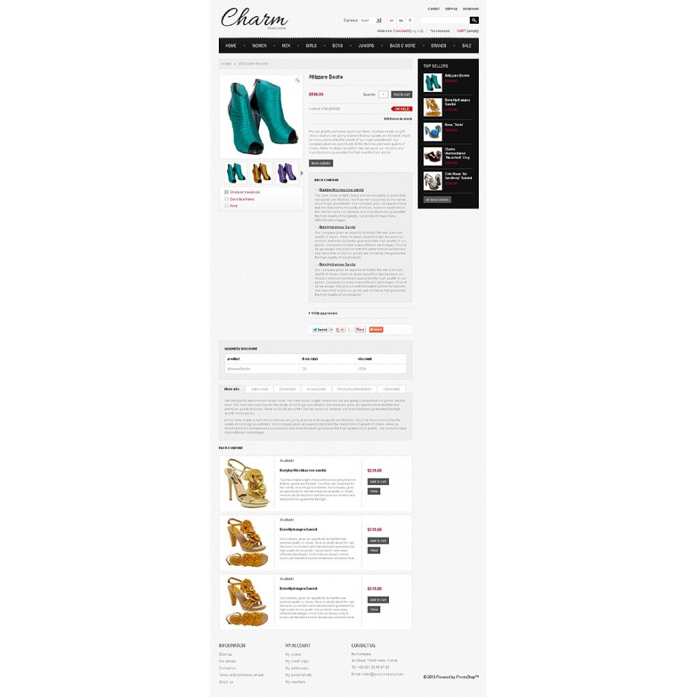 theme - Mode & Chaussures - Footwear Store - 6
