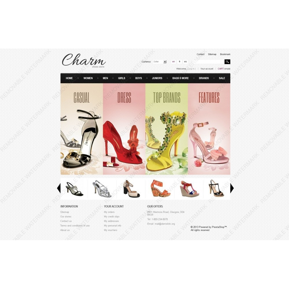 theme - Mode & Chaussures - Footwear Store - 7