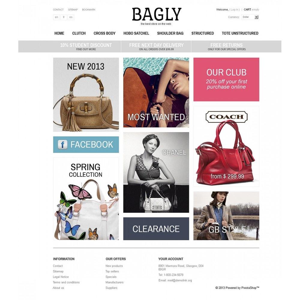 theme - Мода и обувь - Bagly - 5