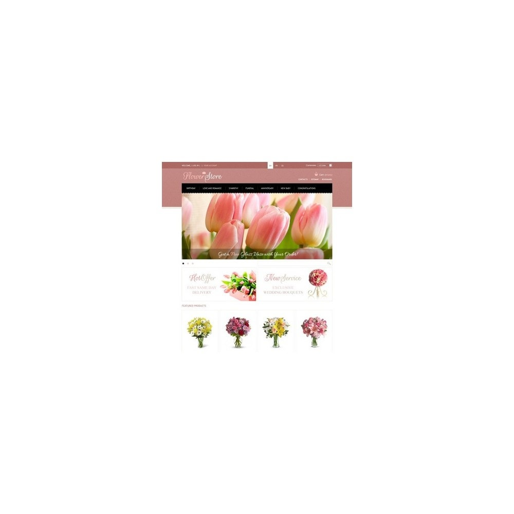 theme - Regalos, Flores y Celebraciones - Flowers Store - 4