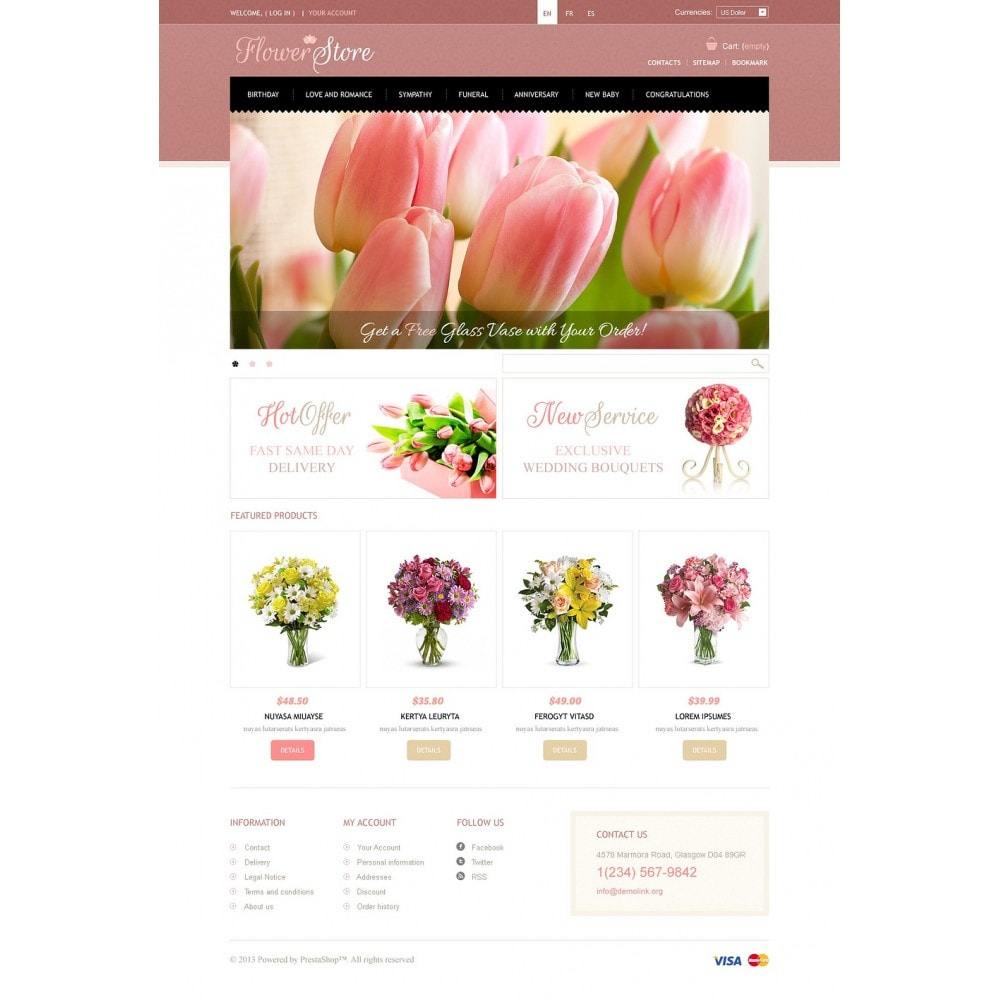 theme - Regalos, Flores y Celebraciones - Flowers Store - 5