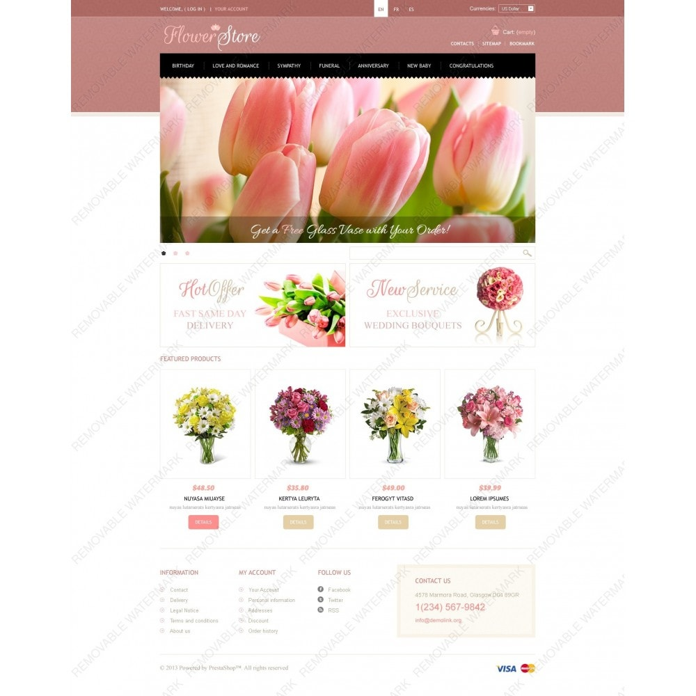 theme - Regalos, Flores y Celebraciones - Flowers Store - 7