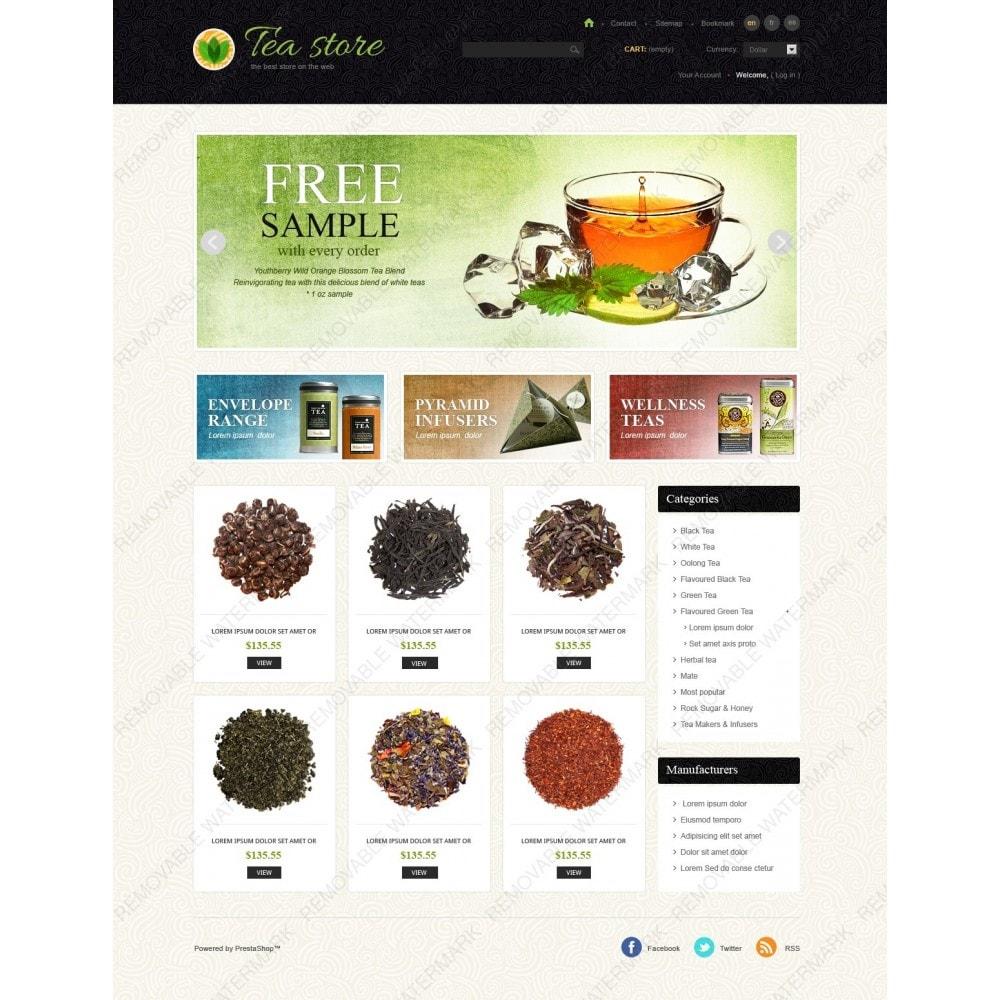 theme - Eten & Restaurant - Tea Store - 2