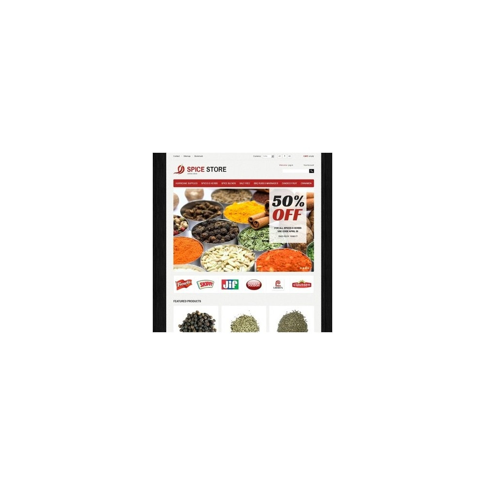 theme - Alimentation & Restauration - Spice Store - 4