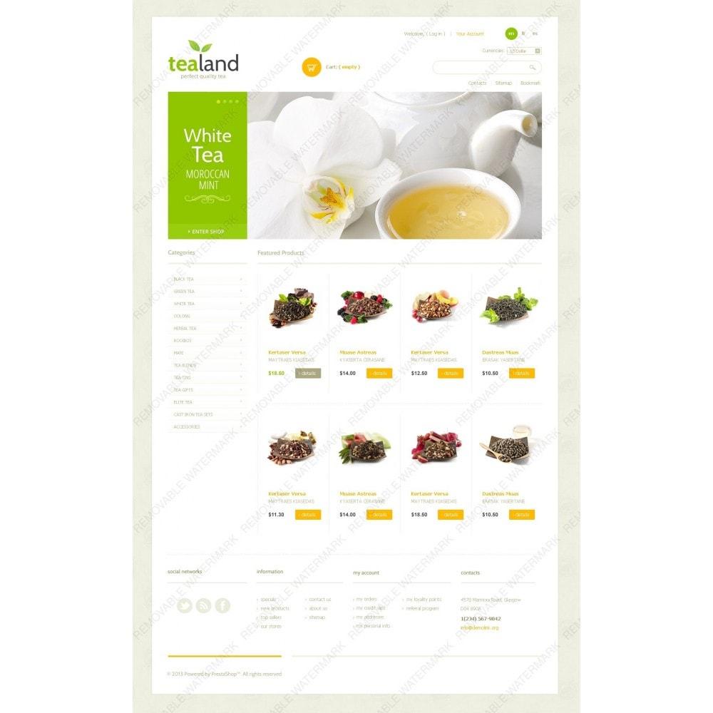 theme - Cibo & Ristorazione - Tea Land - 2