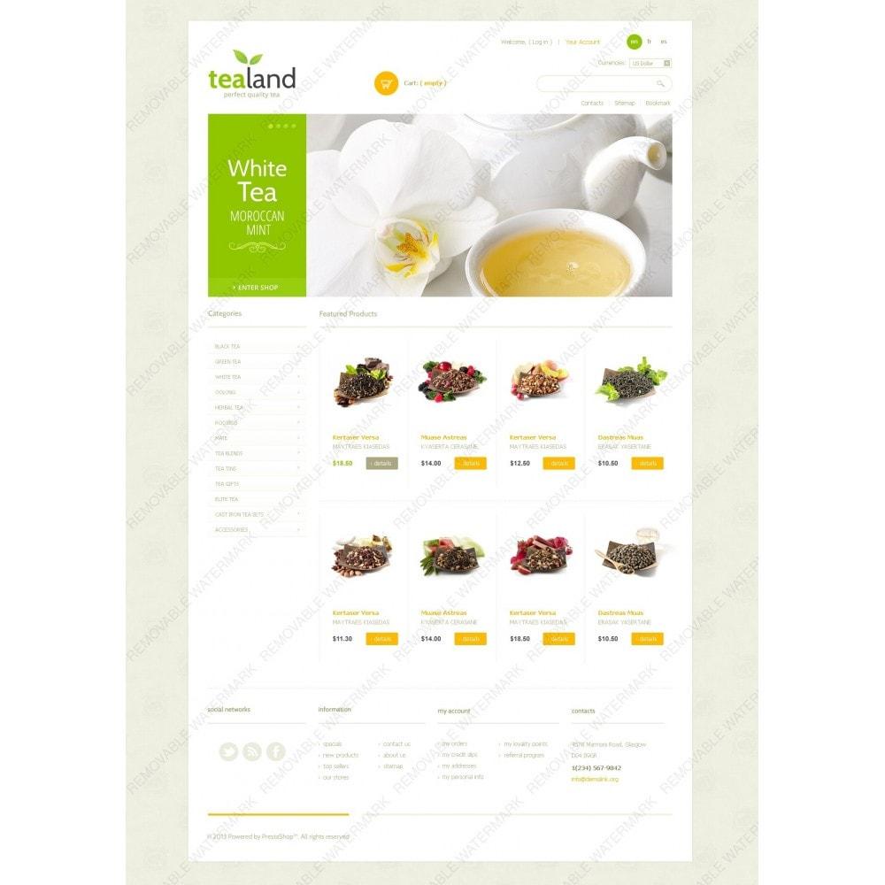 theme - Cibo & Ristorazione - Tea Land - 7