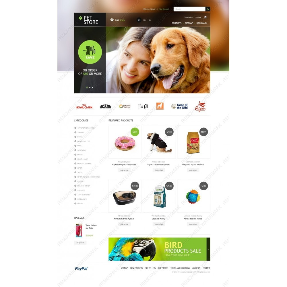 theme - Animais - Pet Store - 2