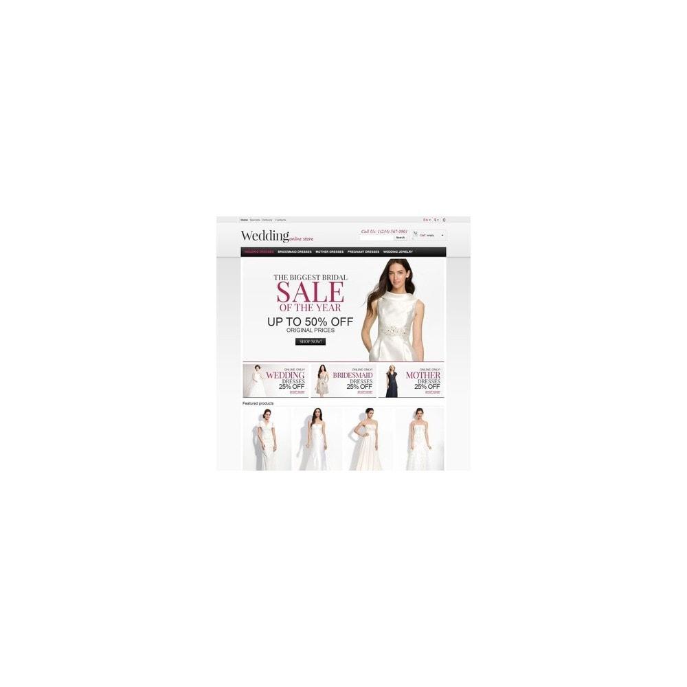 theme - Moda & Calçados - Responsive Wedding Store - 3
