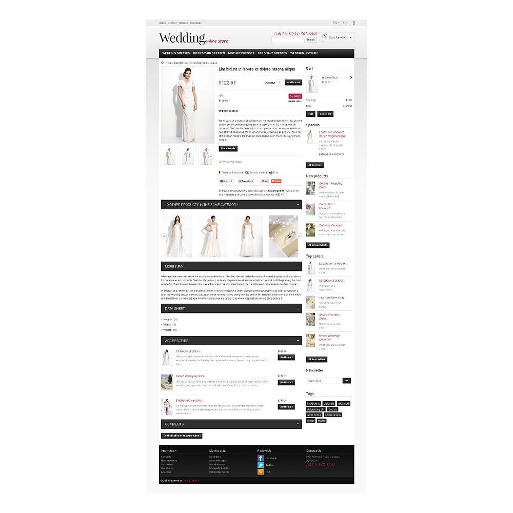 theme - Moda & Calçados - Responsive Wedding Store - 7