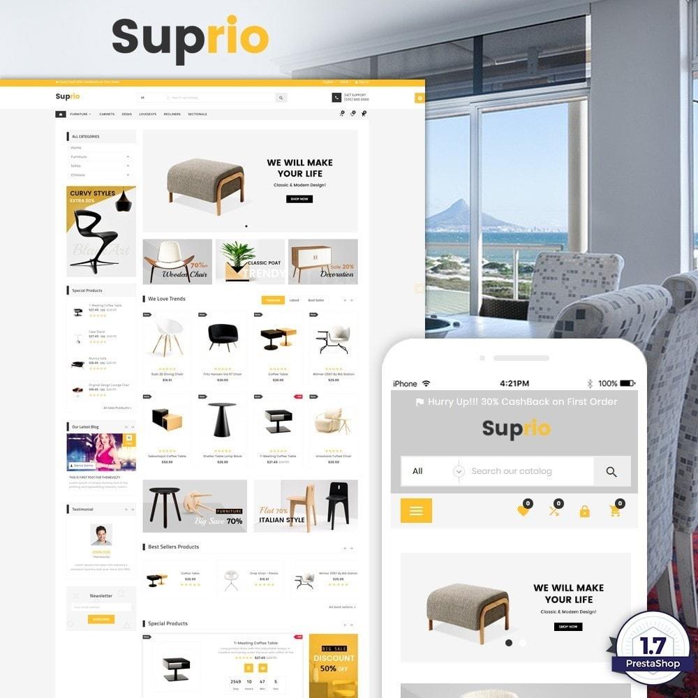 theme - Huis & Buitenleven - Suprio – Furniture Super Store v3 - 1