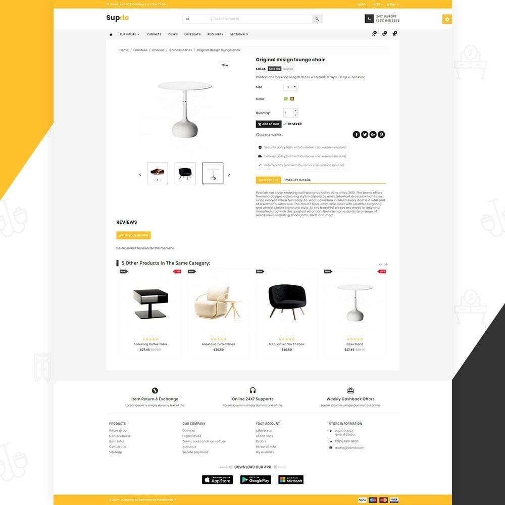 theme - Дом и сад - Suprio – Furniture Super Store v3 - 4
