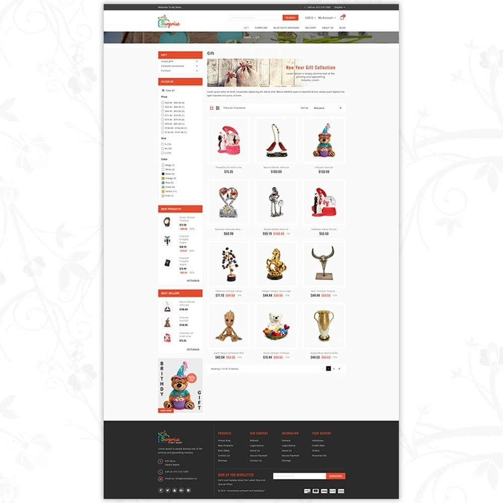 theme - Cadeaus, Bloemen & Gelegenheden - Surprise - Gift Store - 3