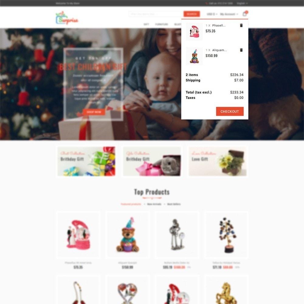 theme - Cadeaus, Bloemen & Gelegenheden - Surprise - Gift Store - 7