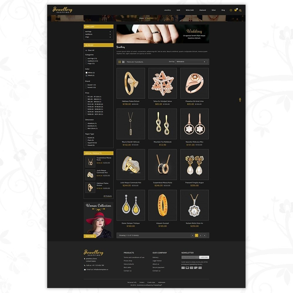 theme - Schmuck & Accesoires - Jewellery Shopping Store - 3