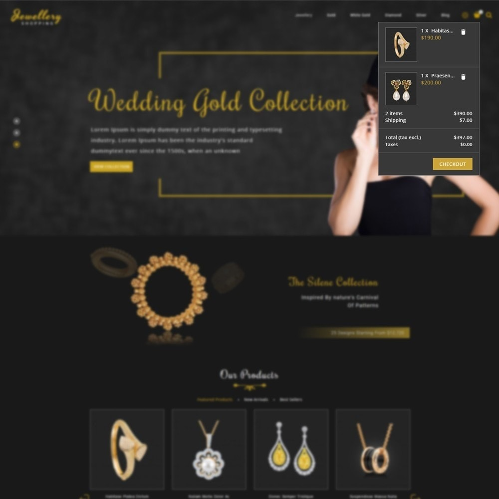 theme - Schmuck & Accesoires - Jewellery Shopping Store - 7