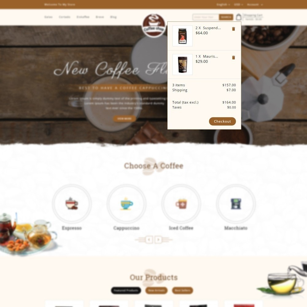 theme - Drank & Tabak - Coffee Shop - 7